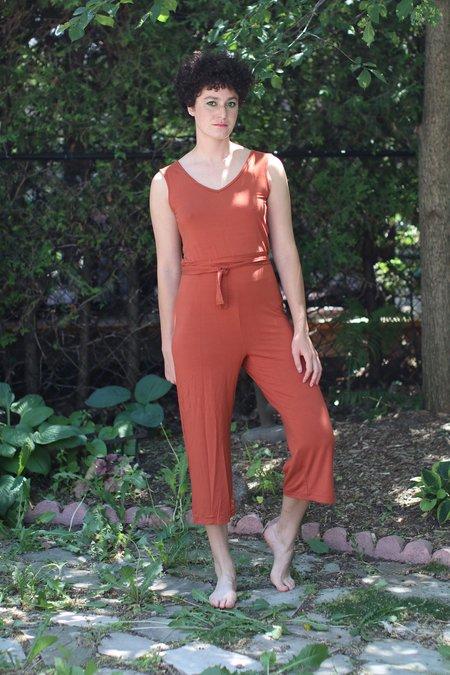 Meemoza Brie Jumpsuit - Burnt Orange