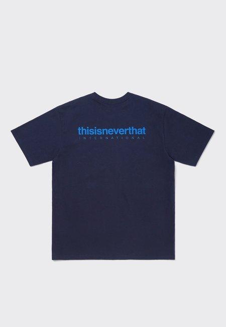 ThisIsNeverThat Intl Logo T-Shirt - Dark Navy