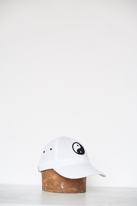 Assembly New York Cotton Yin Yang Hat - White