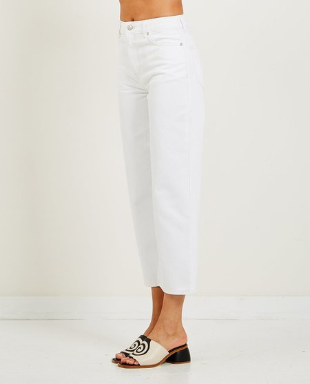 Ganni Relaxed High-Rise Straight Jeans