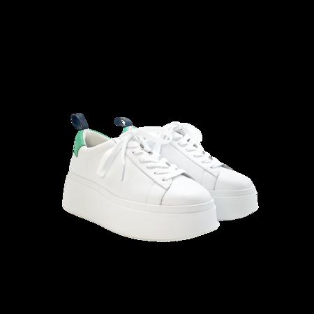 Ash As-Moon Women 490234-149 sneakers - White/Emerald