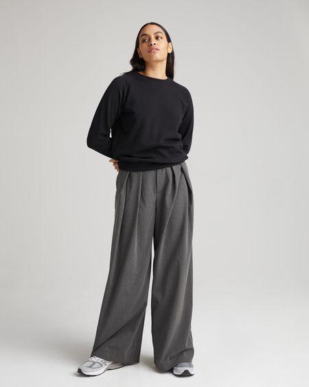 Richer Poorer Recycled Fleece Sweatshirt - Black