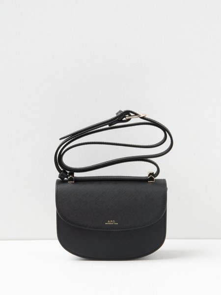 A.P.C. Sac Geneve Mini - Lzz Black