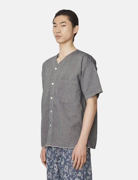 YMC Hawkeye Shirt - Indigo Rinse