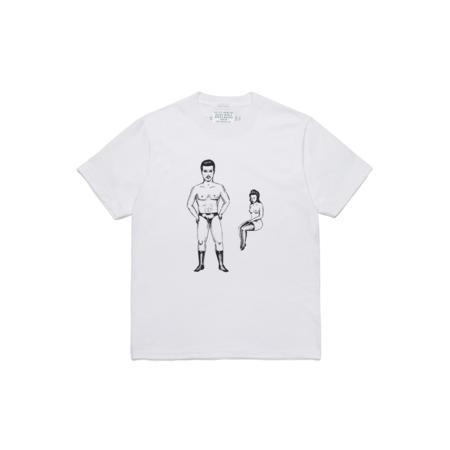 Wacko Maria Born x Raised Type-2 Crew Neck T-Shirt - White