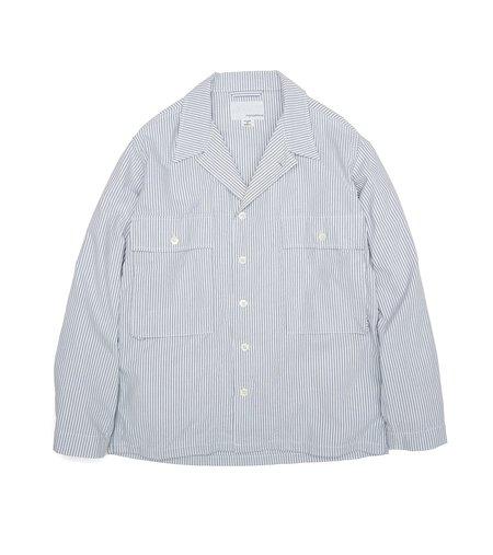 Nanamica Utility Shirt Jacket - Navy