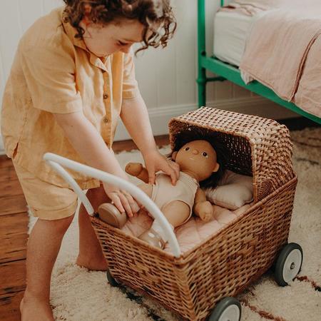 Kids Olli Ella Strolley Trolley - Natural