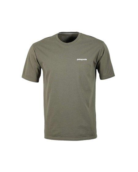 Patagonia Camiseta Logo P-6 Responsibili-Tee - Basin Green