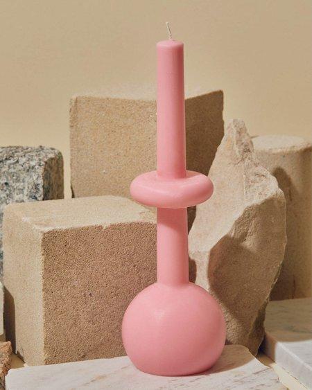 Geo Sphere Candles - Pastel Pink