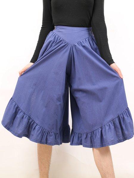 Vintage ruffled leg party pants