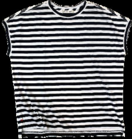 Alex Mill Dave Striped Tee - Navy/White