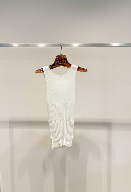Nicole Kwon Concept Store Neck Kit Tank - Shell