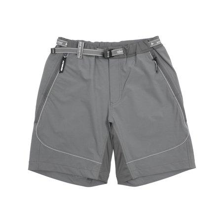 And Wander Trek Shorts - Gray