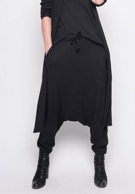 BLACK by K&M Drop Seat Pants