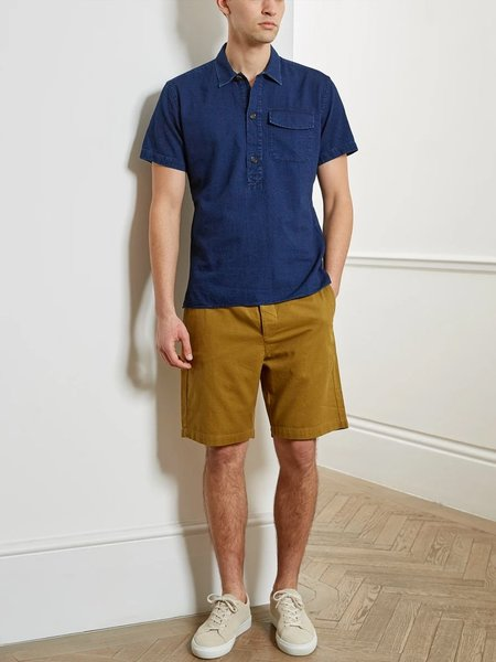 Oliver Spencer Drawastring Shorts - Kildale Ochre