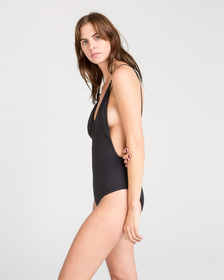 MANTA Dolores Maillot in Black