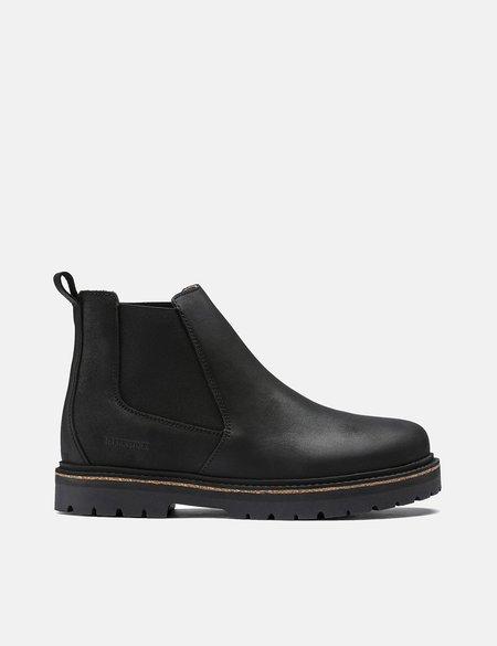 Birkenstock Stalon Boot in Regular Nubuck Leather - Black