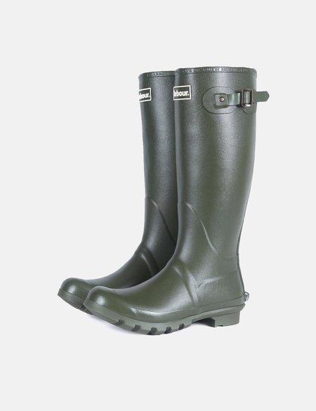 Barbour Bede Wellington Boots - Olive Green