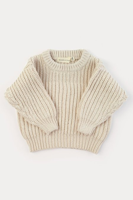 Kids Micaela Greg Chunky Knit Sweater