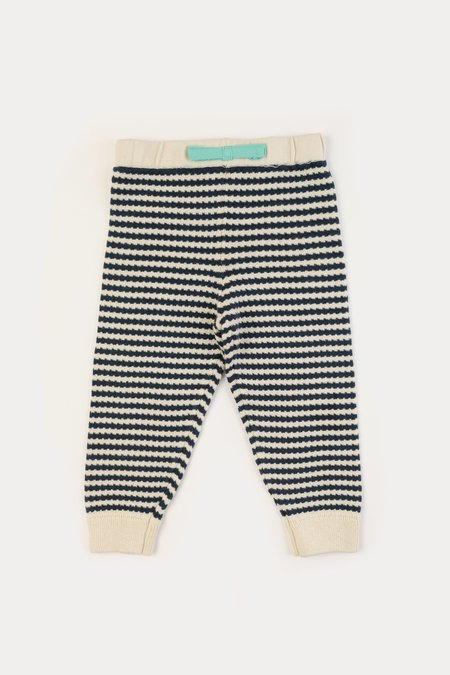 Kids Micaela Greg Textured Striped Sweats