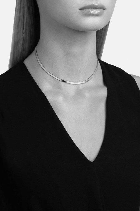 Miansai Herringbone Choker - Gold Vermeil