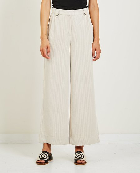 Just Female Moscow Trousers - Stone