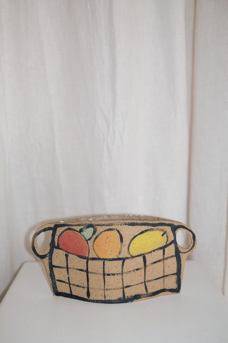Alison Owen Tan Fruit Basket