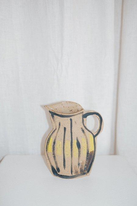 Alison Owen Pitcher Vase - Yellow
