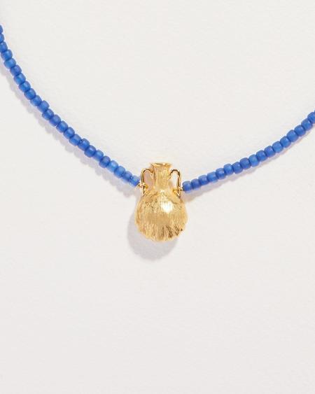 Pamela Love Beaded Shipwreck Necklace