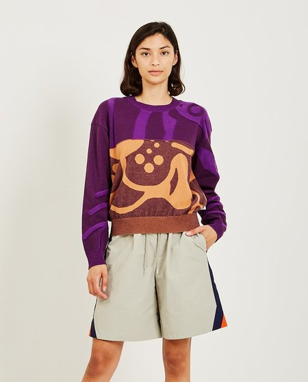 Kenzo Abstract Jumper