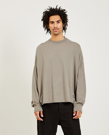 Rick Owens Crater Tee - Dust