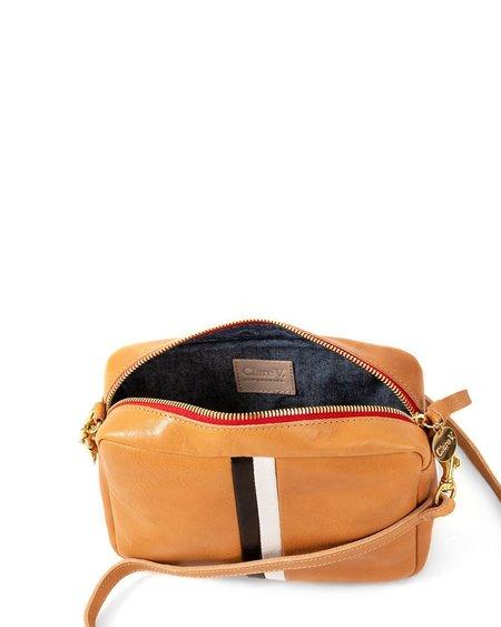 Clare V. Midi Sac bag - Natural Stripes