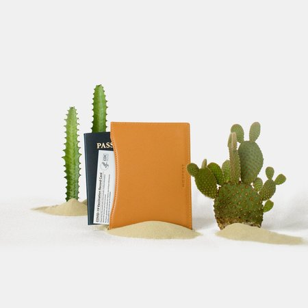 Haerfest Passport Wallet - Persimmon