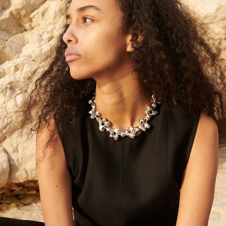 AGMES Simone Necklace - Sterling Silver