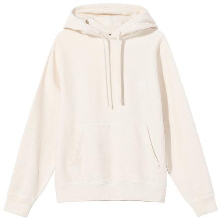 Stüssy stock logo hoodie - Oatmeal