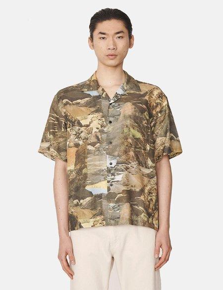 YMC Mitchum Landscape Shirt - Beige