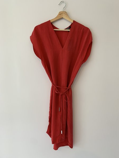 Natalie Busby Straight Dress - Red