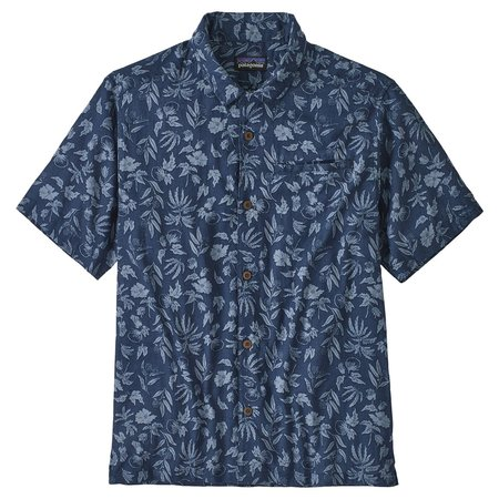 PATAGONIA Lightweight A/C™ Shirt - Fiber Flora/Stone Blue