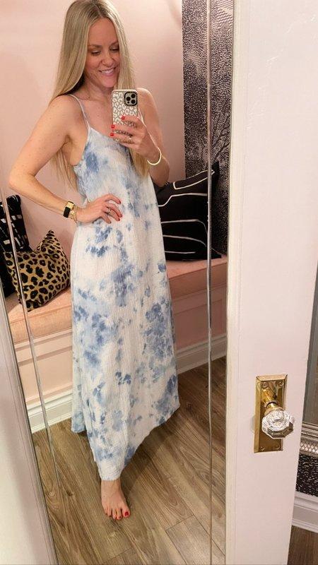 Nation Ltd Lila Maxi Dress - Tie Dye