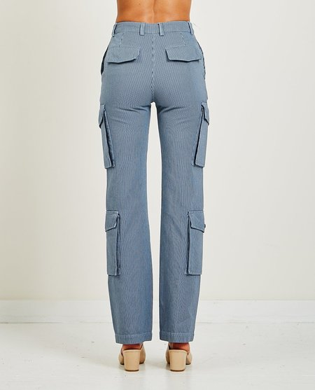 Kenzo Flared cargo trousers - Gray