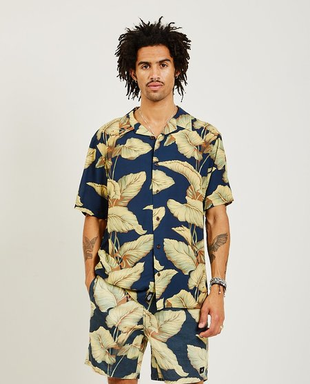 Thrills Laylow Bowling Shirt - Navy