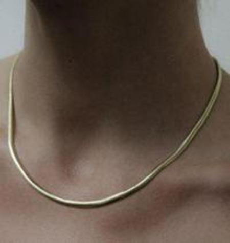 Jonesy Wood Mara Necklace - 14k fine gold dipped