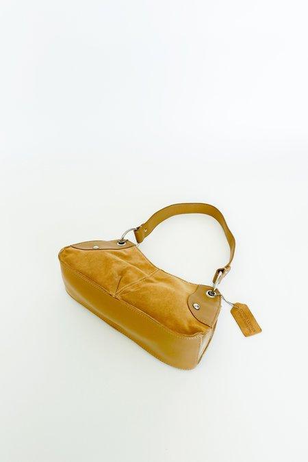 Caroline Holley Suede Leather Mini Purse - Fawn