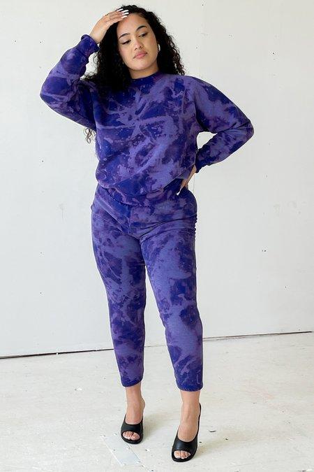 Vintage Shannon Evanhaus Tie Dyed Sweatsuit - Violet
