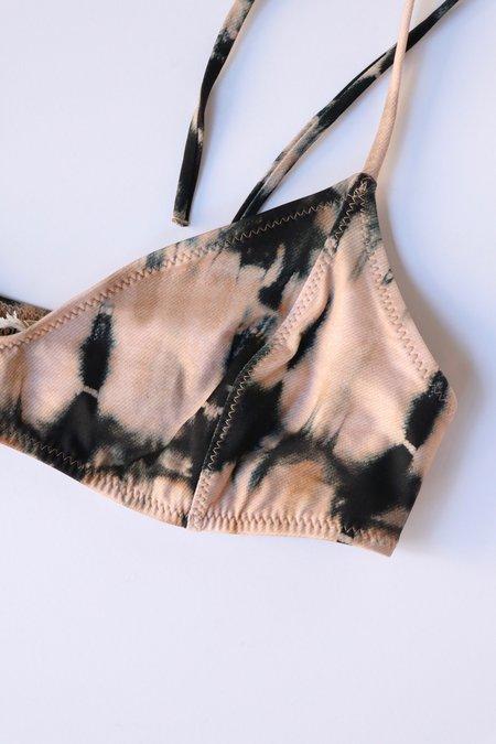 Ulla Johnson Zena Bikini Top - Desert Palm Tie Dye