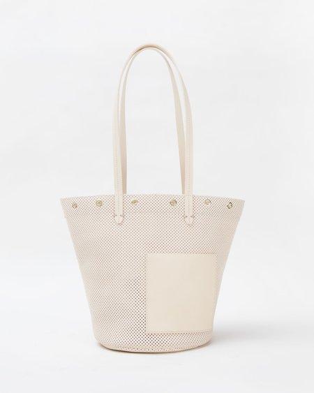 Clare V. Choupette Bag - Cream Perf