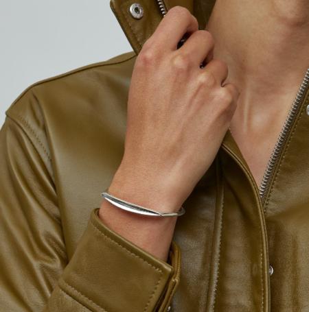 Jenny Bird Groove Cuff bracelet - Silver