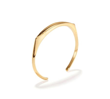 Jenny Bird Groove Cuff bracelet - Gold