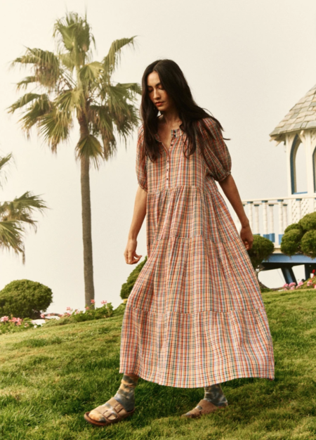 The Great. The Afternoon Dress - Midsummer Plaid