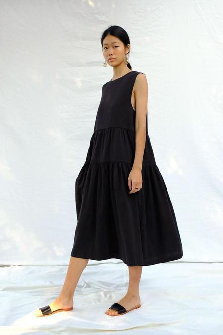 Micaela Greg Tier Dress - Black
